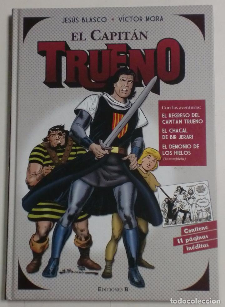 EL CAPITÁN TRUENO - JESÚS BLASCO/VÍCTOR MORA - CONTIENE 11 PÁGINAS INÉDITAS - EDICIONES B (Tebeos y Comics - Ediciones B - Otros)