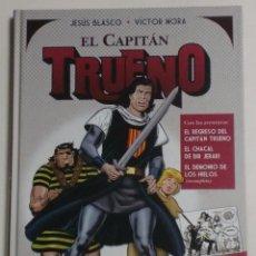 Cómics: EL CAPITÁN TRUENO - JESÚS BLASCO/VÍCTOR MORA - CONTIENE 11 PÁGINAS INÉDITAS - EDICIONES B . Lote 89117840