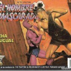 Cómics: TEBEO. EL HOMBRE ENMASCARADO. Nº 72. EDICION HISTORICA. Lote 89170336