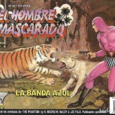 Cómics: TEBEO. EL HOMBRE ENMASCARADO. Nº 62. LA BANDA AZUL. Lote 128288434