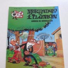 Cómics: MORTADELO Y FILEMON - OLE Nº 106 - AGENCIA DE INFORMACION IBÁÑEZ EDICIONES B E8. Lote 89174056