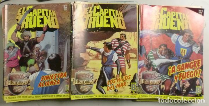 EL CAPITÁN TRUENO - EDICIÓN HISTÓRICA - COMPLETA Nº1 A Nº148 - EDICIONES B / GRUPO ZETA (Tebeos y Comics - Ediciones B - Otros)