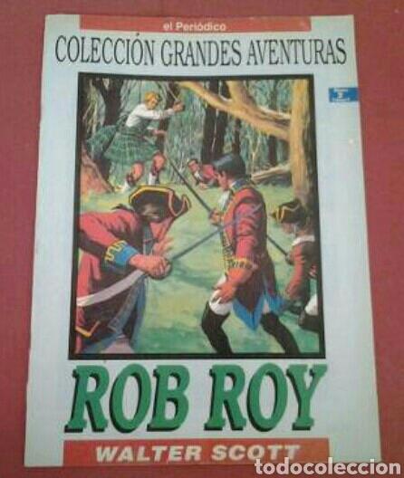 *ROB ROY* DE WALTER SCOTT. COLECCIÓN GRANDES AVENTURAS. NO.2 V2 (Tebeos y Comics - Ediciones B - Otros)