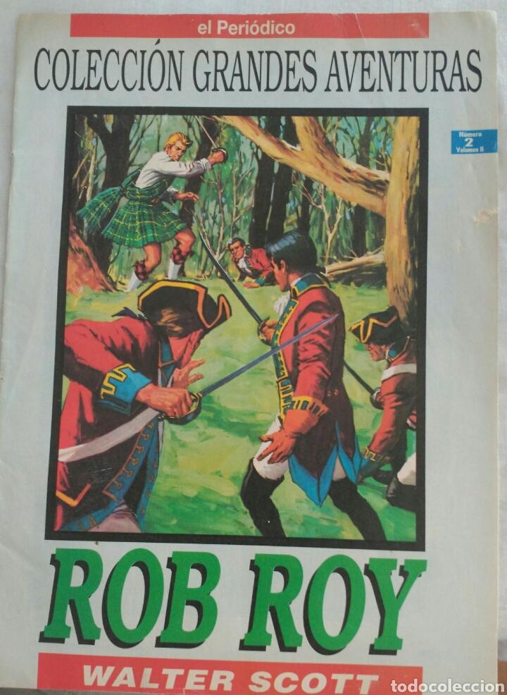 Cómics: *ROB ROY* DE WALTER SCOTT. COLECCIÓN GRANDES AVENTURAS. NO.2 V2 - Foto 5 - 89427007