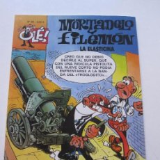 Cómics: MORTADELO Y FILEMÓN. LA ELASTICINA. OLÉ! Nº 39 - FRANCISCO IBÁÑEZ EDICIONES B E2. Lote 89566104