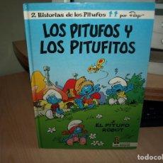 Cómics: LOS PITUFOS Y LOS PITUFITOS - Nº 13 - EL PITUFO ROBOT - TAPA DURA - EDICION3ES B. Lote 89673360
