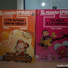 Cómics: EL PEQUEÑO SPIROU - DOS NÚMEROS - TAPA DURA - EDICIONES B. Lote 89674720