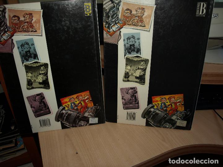 Cómics: EL PEQUEÑO SPIROU - DOS NÚMEROS - TAPA DURA - EDICIONES B - Foto 3 - 89674720