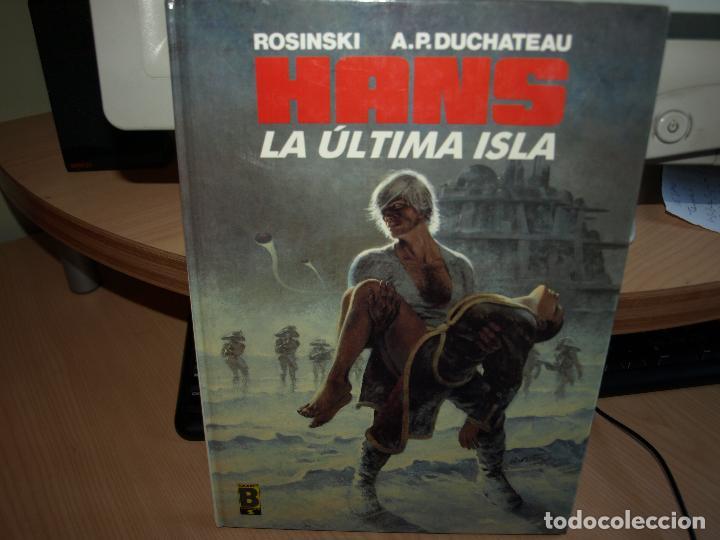 HANS - NÚMERO 1 - LA ULTIMA ISLA - TAPA DURA - EDICIONES B (Tebeos y Comics - Ediciones B - Otros)
