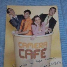 Cómics: POSTAL CAMERA CAFE. Lote 89746700