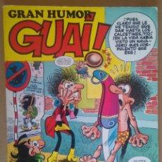 Cómics: GRAN HUMOR GUAI 7 - EDICIONES B - INCLUYE 134 A 137 DE LA REVISTA GUAI!. Lote 89836072