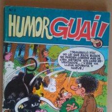 Cómics: HUMOR GUAI 2 - EDICIONES B - INCLUYE 4 NºS 14-15-16-17 DE LA REVISTA GUAI!. Lote 89836288