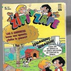 Cómics: TEBEO ZIPI Y ZAPE. Nº 111. EDICIONES B. Lote 90265980