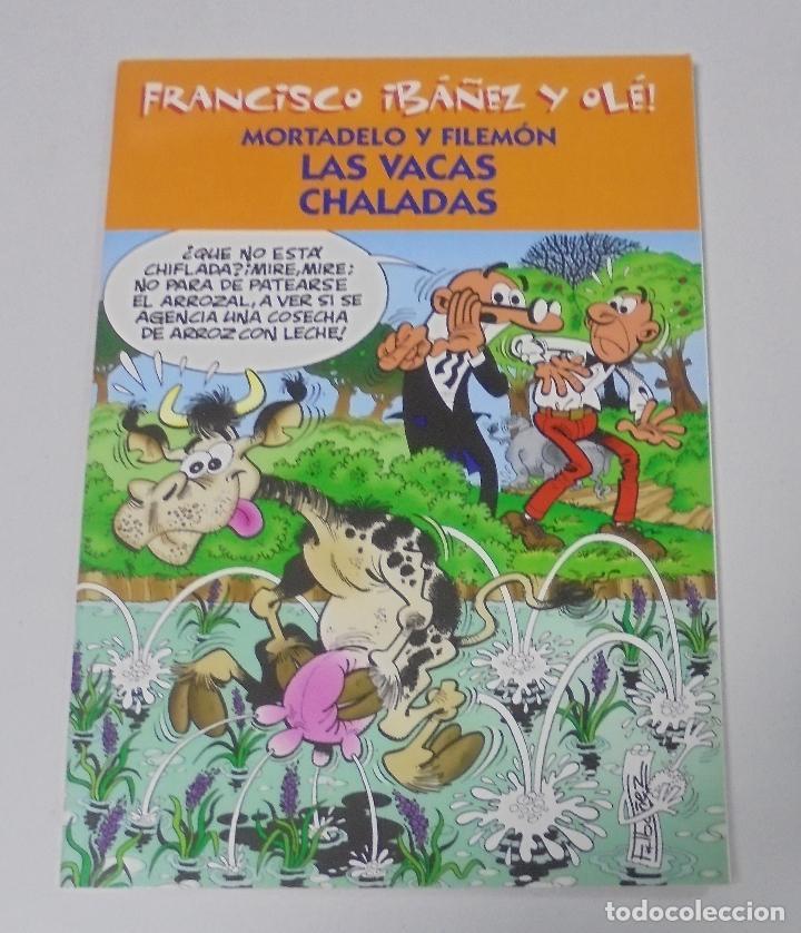 FRANCISCO IBAÑEZ Y OLE! MORTADELO Y FILEMON LAS VACAS CHALADAS. LOS DIEZ IMPRESCINDIBLES. 2001 (Tebeos y Comics - Ediciones B - Humor)