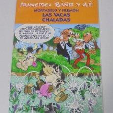 Cómics: FRANCISCO IBAÑEZ Y OLE! MORTADELO Y FILEMON LAS VACAS CHALADAS. LOS DIEZ IMPRESCINDIBLES. 2001. Lote 90405709