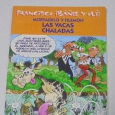 Cómics: FRANCISCO IBAÑEZ Y OLE! MORTADELO Y FILEMON LAS VACAS CHALADAS. LOS DIEZ IMPRESCINDIBLES. 2001. Lote 90405734