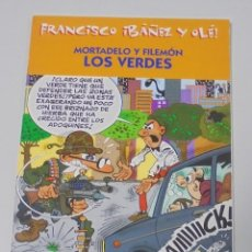 Cómics: FRANCISCO IBAÑEZ Y OLE! MORTADELO Y FILEMON LOS VERDES. LOS DIEZ IMPRESCINDIBLES. 2001. Lote 90406089