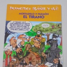 Cómics: FRANCISCO IBAÑEZ Y OLE! MORTADELO Y FILEMON EL TIRANO. LOS DIEZ IMPRESCINDIBLES. 2001. Lote 90406119