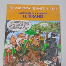 Cómics: FRANCISCO IBAÑEZ Y OLE! MORTADELO Y FILEMON EL TIRANO. LOS DIEZ IMPRESCINDIBLES. 2001. Lote 90406144