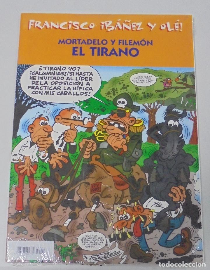 FRANCISCO IBAÑEZ Y OLE! MORTADELO Y FILEMON EL TIRANO. LOS DIEZ IMPRESCINDIBLES. 2001 (Tebeos y Comics - Ediciones B - Humor)