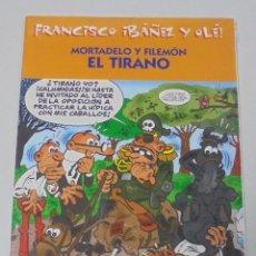 Cómics: FRANCISCO IBAÑEZ Y OLE! MORTADELO Y FILEMON EL TIRANO. LOS DIEZ IMPRESCINDIBLES. 2001. Lote 90406159