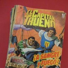 Cómics: EL CAPITAN TRUENO. EDICIÓN HISTÓRICA. LOTE DE 46 NÚMEROS ENTRE EL 1 Y EL 65. EDICIONES B. Lote 90561050