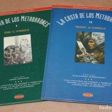 Fumetti: CO & CO 5 11 – LA CASTA DE LOS METABARONES 1 2 – 1ª ED. 1993 Y 1994, GRÁN FORMATO – I II. Lote 28402159