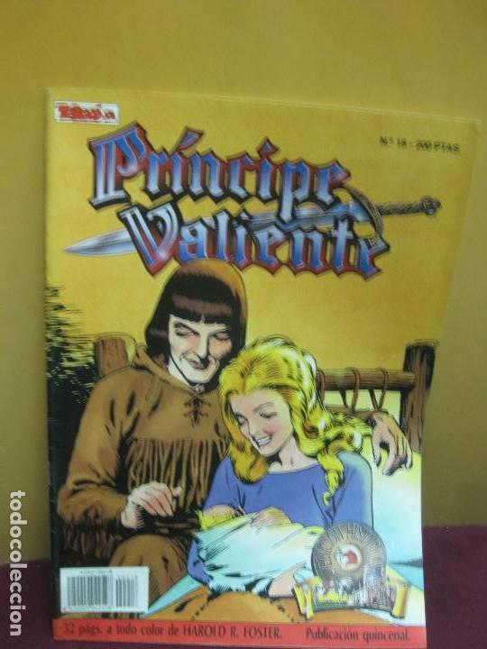 PRINCIPE VALIENTE Nº 18. EDICION HISTORICA . EDICIONES B, 1988. (Tebeos y Comics - Ediciones B - Otros)