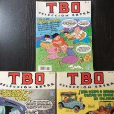 Cómics: TBO SELECCION EXTRA 3 TOMOS 1,4,5. Lote 92034052