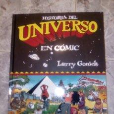 Cómics: HISTORIA DEL UNIVERSO EN CÓMIC. LARRY GONICK. EDICIONES B. Lote 92087164