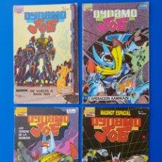 Cómics: LOTE DYNAMO JOE N°S 1, 2, 3 Y 4 FIRST COMICS /EDICIONES B. Lote 93398480