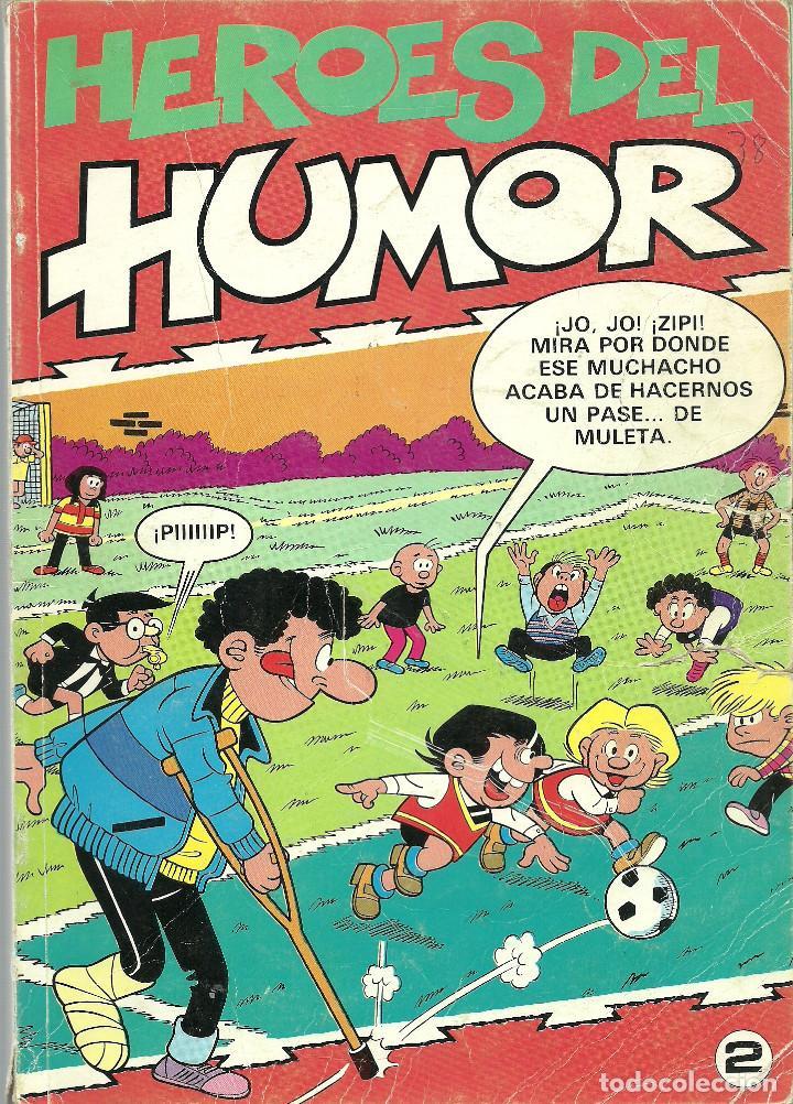 HEROES DEL HUMOR Nº 2 - EDICIONES B 1987 (Tebeos y Comics - Ediciones B - Humor)