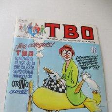 Cómics: TBO, Nº. 45.- 1988. Lote 93569430