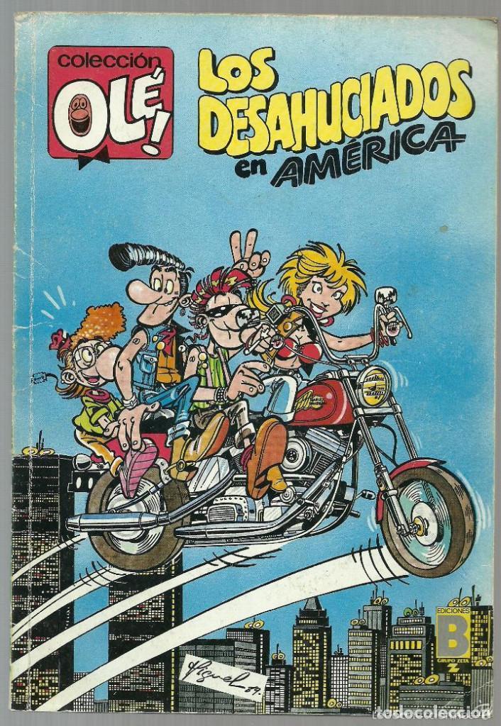 LOS DESAHUCIADOS EN AMÉRICA Nº 355-V.7 - EDICIONES B 1ª EDICIÓN SEPTIEMBRE 1989 (Tebeos y Comics - Ediciones B - Humor)