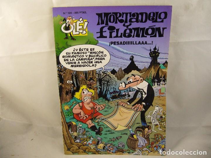 MORTADELO Y FILEMON - Nº 124 - COLECCION OLÉ / EDICIONES B 1996 (Tebeos y Comics - Ediciones B - Humor)