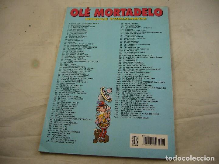 Cómics: MORTADELO Y FILEMON - Nº 124 - COLECCION OLÉ / EDICIONES B 1996 - Foto 4 - 93739985