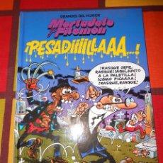 Cómics: GRANDES DEL HUMOR-MORTADELO Y FILEMON - ¡ PESADIIILLAAA... ! -TAPA DURA.. Lote 93877710