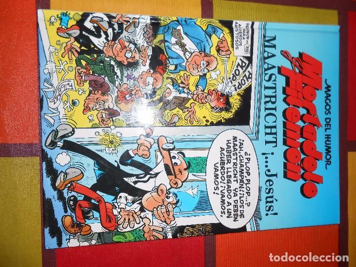 Cómics: MAGOS DEL HUMOR-MORTADELO Y FILEMON -MAASTRICHT ¡...JESÚS! -TAPA DURA. - Foto 2 - 93878100