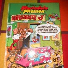 Cómics: GRANDES DEL HUMOR-MORTADELO Y FILEMON -EXPEDIENTE J -TAPA DURA.. Lote 93878590