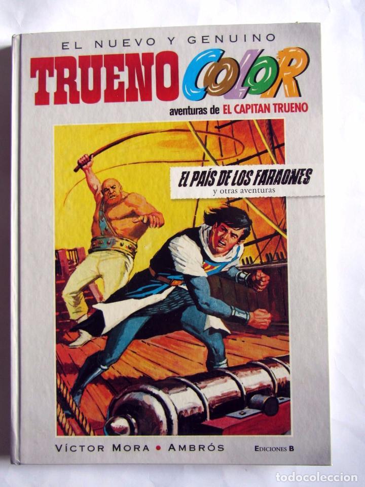 EL NUEVO Y GENUINO TRUENO COLOR 3 EL PAIS DE LOS FARAONES. CAPITAN TRUENO (Tebeos y Comics - Ediciones B - Clásicos Españoles)