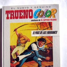 Cómics: EL NUEVO Y GENUINO TRUENO COLOR 3 EL PAIS DE LOS FARAONES. CAPITAN TRUENO. Lote 94270080