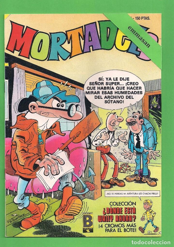 MORTADELO Nº 124 - EDICIONES B, S.A. - GRUPO Z. (1989). (Tebeos y Comics - Ediciones B - Humor)