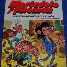 Cómics: LA HISTORIA DE MORTADELO Y FILEMÓN - MAGOS DEL HUMOR - EDICIONES B. Lote 94968015