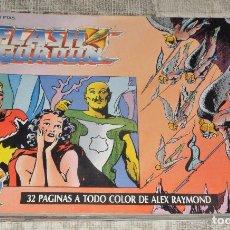 Cómics: FLASH GORDON DEL 5 AL 12. EDICIÓN HISTÓRICA EDICIONES B TEBEOS SA. 1988. EXCELENTE ESTADO. 8 NUMEROS. Lote 119890930