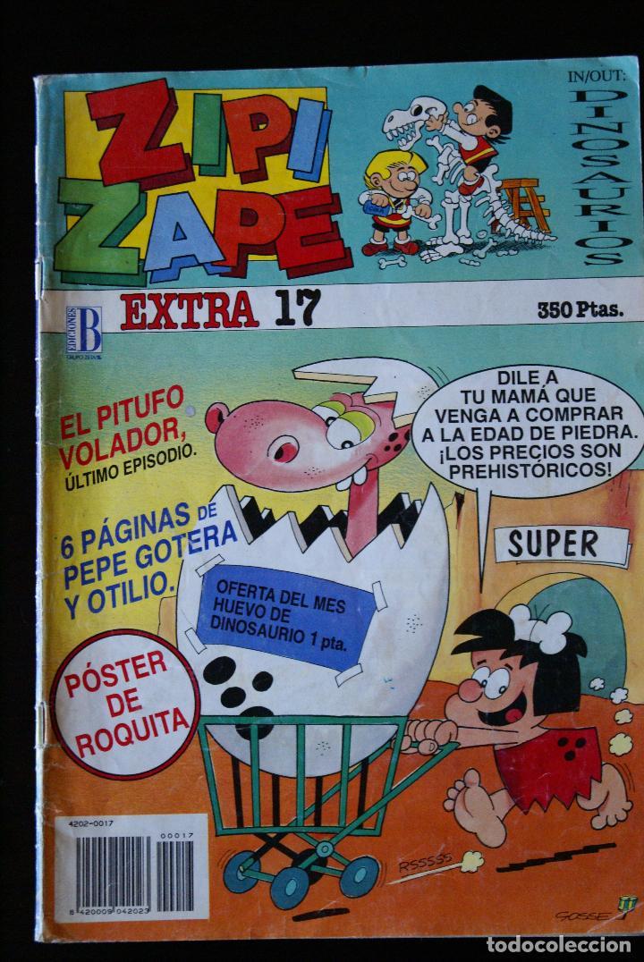 ZIPI Y ZAPE, EXTRA 17, EDICIONES B. (Tebeos y Comics - Ediciones B - Humor)
