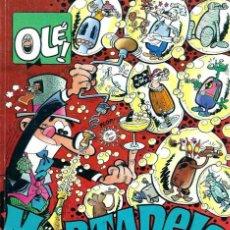 Cómics: OLE Nº 399 M.262 MORTADELO - JUERGAS CON BURBUJAS Y PORTADAS - ED. B 1992 1ª EDICION - BIEN. Lote 95759067