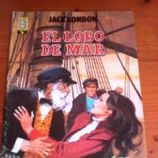 Cómics: EL LOBO DE MAR. JACK LONDON. . Lote 95827603