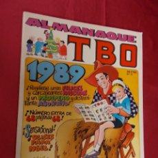 Cómics: ALMANAQUE TBO 1989. Nº 11. EDICIONES B. PORTADA OPISSO.. Lote 95843203