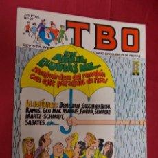 Cómics: TBO. Nº 27. EDICIONES B. PORTADA MUNTAÑOLA.. Lote 95845539