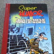 Cómics: SUPER HUMOR -- Nº 9 -- ANACLETO AGENTE SECRETO -- EDICIONES B 2009 --. Lote 95964327